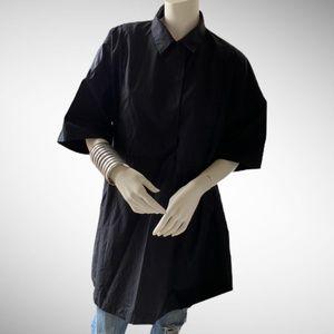 ACNE STUDIOS black Sena tent dress